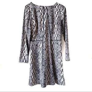 Michael Kors Snake Print Flare Dress 16 NWT